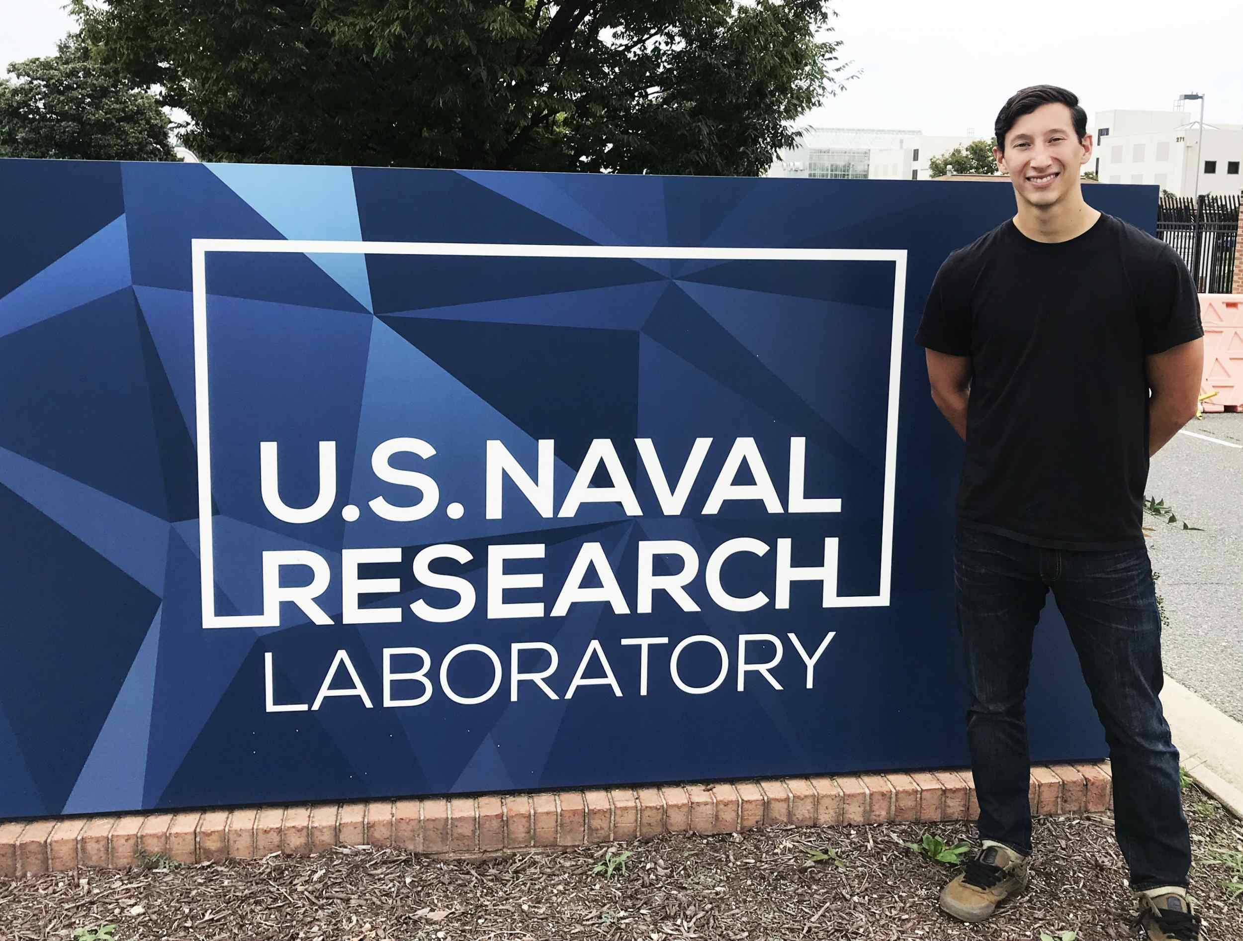 Sean at the US Naval Research Lab