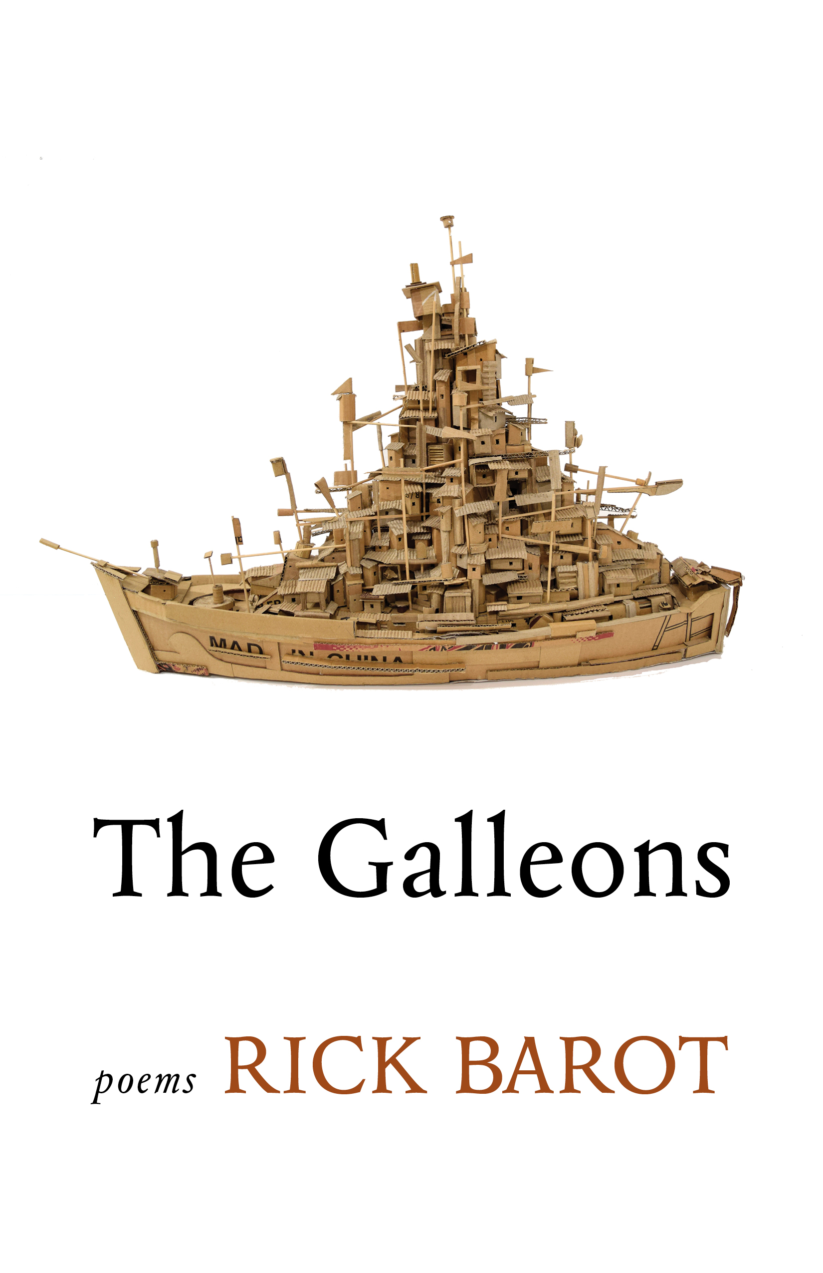 Rick Barot Galleons cover image