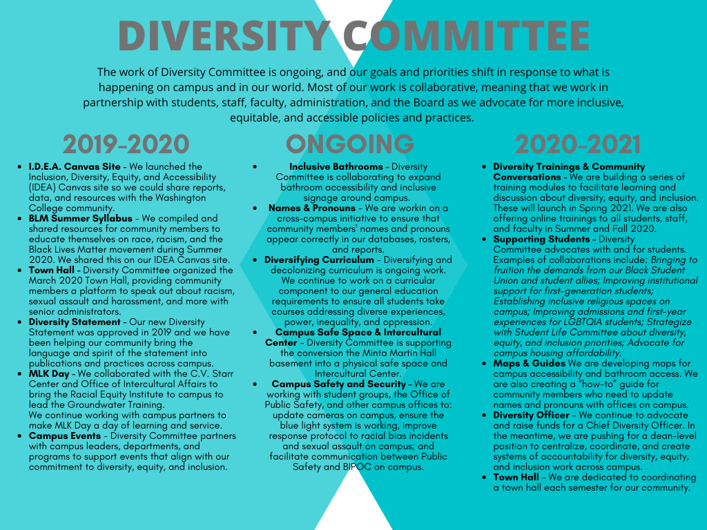 Diversity Committee outline