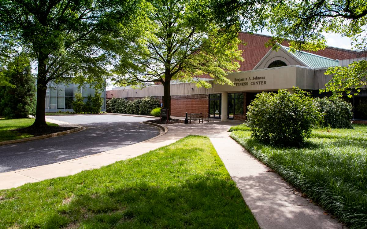 Johnson Fitness Center exterior