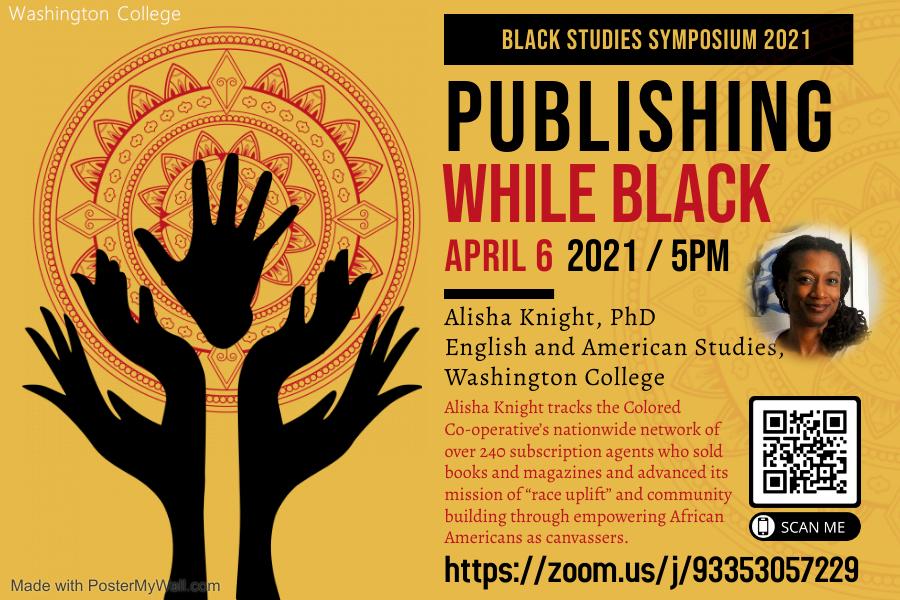 Black Studies Symposium - Publishing while Black