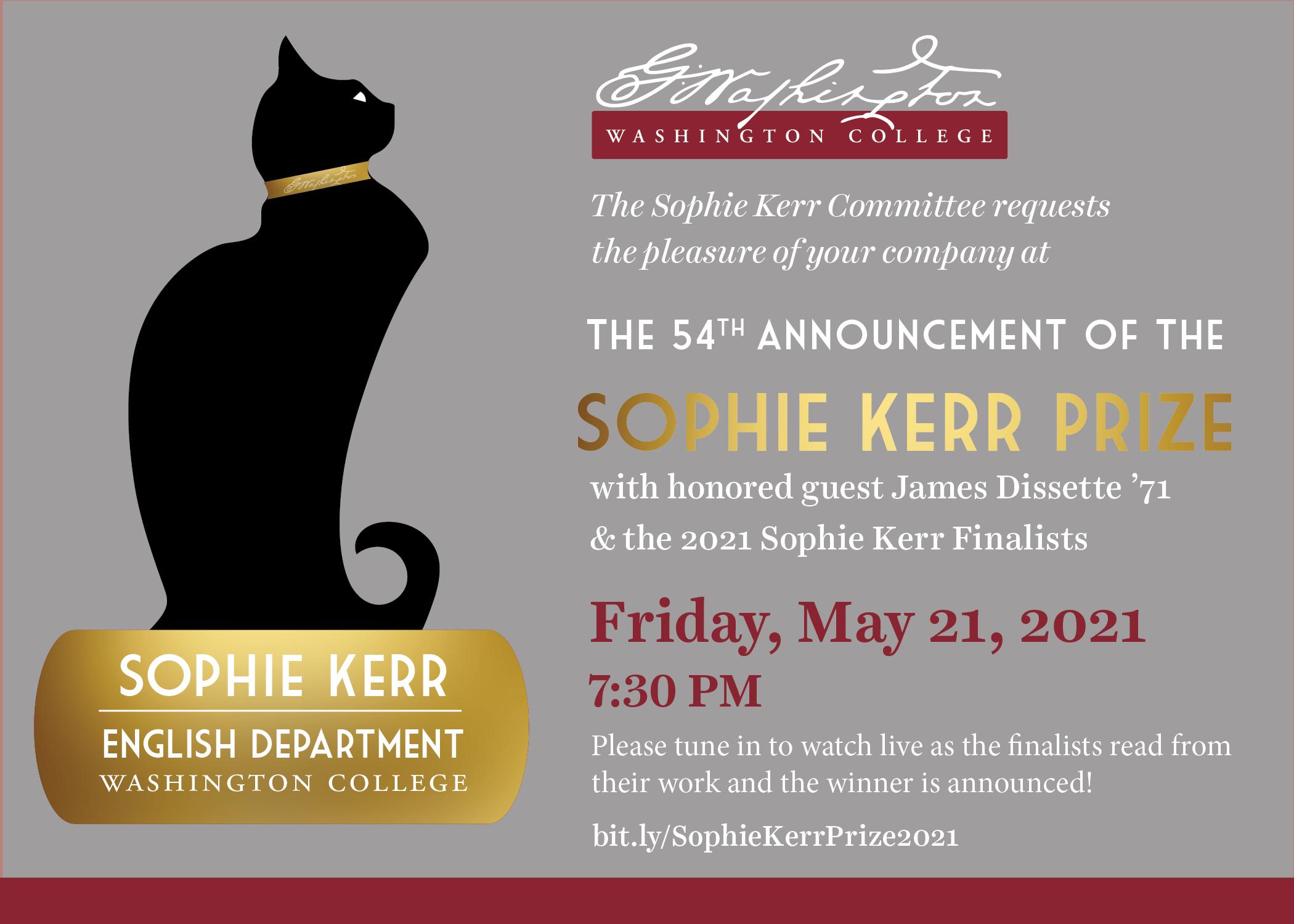 Sophie Kerr Event