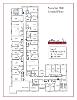 Sassafras Hall second floor floor plan