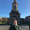 Chemistry major Erin Asman, '20 studying abroad in Ireland at the University College Cork (Spring 2019).