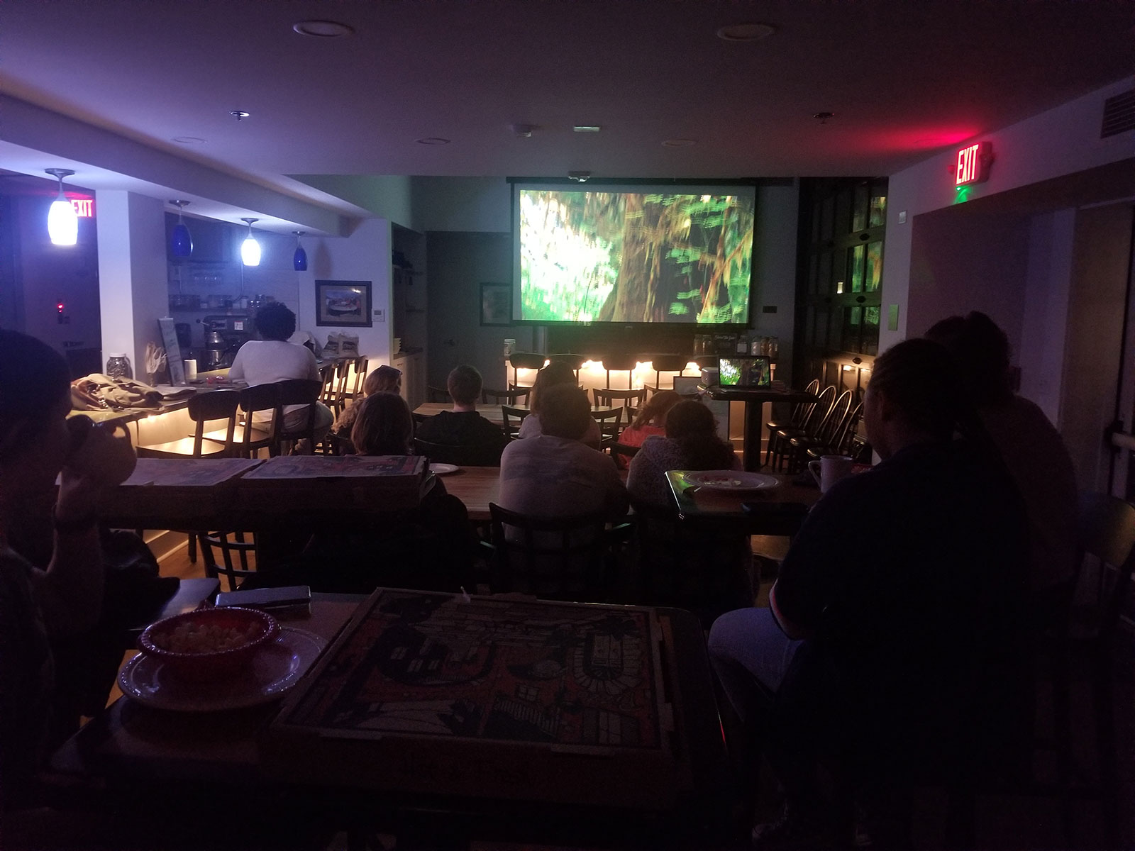 A screening of Dirt! The Movie in the Food Lab gets builds excitement about the importance of composting.